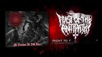 Feast Of The Antipathy - Right To The Sacrificium ft. AnimalFarm, Lorna Shore