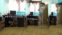 自编14步摇鼓点基础舞zhanghongaaa原创简单广场舞专为穿高跟鞋而编