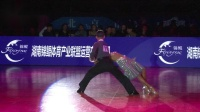 2018年中国体育舞蹈公开系列赛(北京站)A组L决赛SOLO伦巴谷庆午 林紫萱