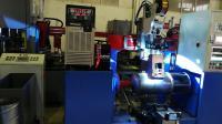 Water tank seam welding machine