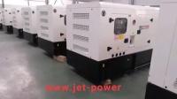 Perkins silent diesel generator
