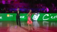 2018年中国体育舞蹈公开系列赛(北京站)A组L决赛SOLO伦巴阎棒棒 杜玉君