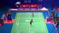 中国公开赛1/4决赛,何冰娇不可思议鱼跃救球