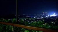 阳江市阳东区燕山湖、龙山公园中秋节夜晚美景