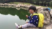 小沐橙 2岁10个月 全国自驾游西安站9年后再逛大学校园