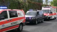 Schwerer LKW Unfall mit eingeklemmten Personen Großübung der Feuerwehr