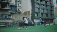 我在第775期 : 耐克2018世界杯巴西队版街足风广告  致敬20年前大罗经典机场广告截了一段小视频