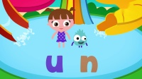ABC Phonics _ Reading Lesson- Three Letter Blending with Short U _ LOTTY LEARNS