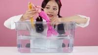 《小伶玩具》人鱼公主美美与芭比的奇幻变身之旅
