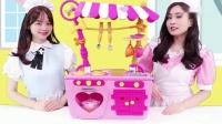 《小伶玩具》伶可家族广告明星的神奇魔法厨房!
