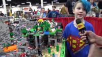 【乐高】7岁小孩搭建的Minecraft World Created全地形!