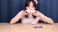 小伶玩具:自制日本食玩披萨+气泡饮料