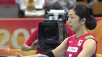 10月14日日本vs塞尔维亚-女排世锦赛六进四全场(现场原声)
