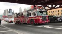 FDNY - Different Agencies Line Up to Salute Fallen FDNY Firefighter Michael