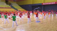 喜迎重阳2018(夕阳红柔力情)福州160人双拍双球展示《夕阳红》