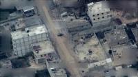 Drone Turki merekam teroris YPG menggunakan wilayah perkotaan