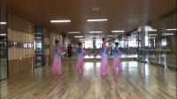郑州西湖乐动李华舞蹈队古典团扇舞     爱在天堂