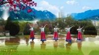 兰州蝶恋舞蹈队:蒙古舞《天边》5人团队版,编舞:桃子老师