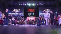 小朱,邓健 vs 烟仔,俊俊(w)-32进16(不含Guest)-Breaking 2on2-炸舞阵线2018