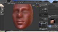 blenderCN-雕刻入门-新手学习03_matcap的运用和痕迹+刮刀笔刷用法