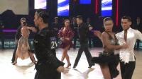 2018年中国体育舞蹈公开系列赛(温州站)职业组L半决赛恰恰朱青 熊媛