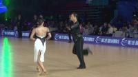2018年中国体育舞蹈公开系列赛(温州站)职业组L决赛SOLO恰恰侯瑶 庄婷