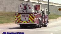 (13) The Colony Fire Dept. Truck 13 Responding Horn - YouTube