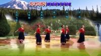 兰州蝶恋舞蹈队:藏族舞《蓝色天梦》6人版,编舞:応子老师