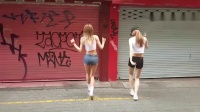 鬼步舞两个妹子搞笑视频