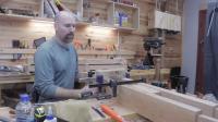 如何做脚踏车床Treadle Lathe Build Part IV - Hand tool woodworking