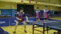 【袁义兴乒乓球教学】第十九集 反手拉下旋技术要领及训练方法(左手版)