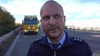 07.11.2018 - VN24 - Kleintransporter kracht auf A2 bei Lanstrop in ein