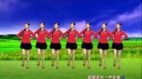东方红艳经典金曲《火火的爱》超火广场舞,简单好看教学版