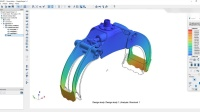 Large assembly design study using Fusion 360 and SIMSOLID