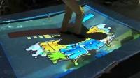 电子墨水互动墙,趣味互动投影游戏与互动投影书  深圳