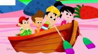 五个小形状童谣学习形状为儿童形状儿童歌曲