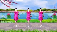 8步《小小姑娘》附教学,温馨优美,一学就会的广场舞