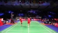 【低视角】2018丹麦公开赛决赛,雅思组合vs德差波尔沙西丽