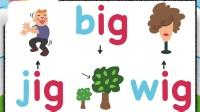 CVC words - ig family