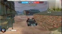 暴走装甲99式坦克的自动机枪专杀轻型坦克不用瞄准都能连杀6辆