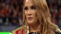WWE两个女人的旷世之战,女王隆达罗西被强森表妹暴揍!