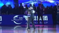 2018年第28届全国体育舞蹈锦标赛A组L决赛SOLO桑巴阎棒棒 杜玉君