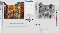 SignLab Q10 UV 打印 - 位图图像设置白色纹理基底实例操作步骤