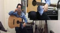 《陈伟教你玩弹唱》《旅行》电木吉他+教学+带谱!