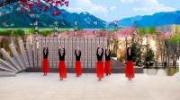 兰州蝶恋舞蹈队:新疆舞《乌黑的长发团》团队版,编舞:艺莞儿老师