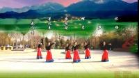 兰州蝶恋舞蹈队:蒙古舞《思念草原》团队版,编舞:艺莞儿老师