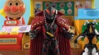 《橙子乐园在日本玩具》费里亚吃了面包变成了强大的费力侠