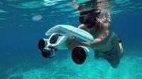 海陆空 - Sublue 白鲨mix 水下助推器 精彩视频-仙本那游记