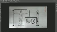 三维人物建模的人体结构分析