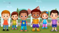 ChuChu TV Police Save School Children from Bad Guys in the School Van